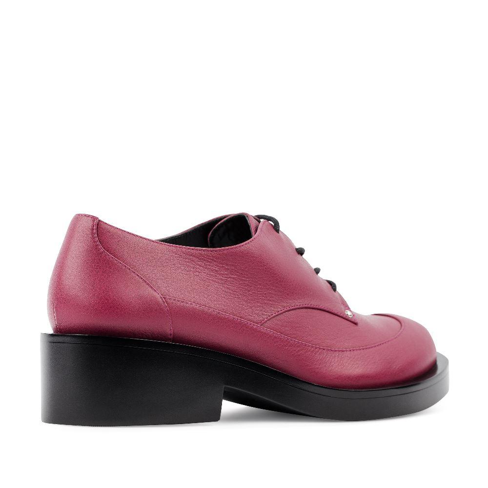 Женские ботинки CorsoComo (Корсо Комо) Ботинки из кожи цвета амарант