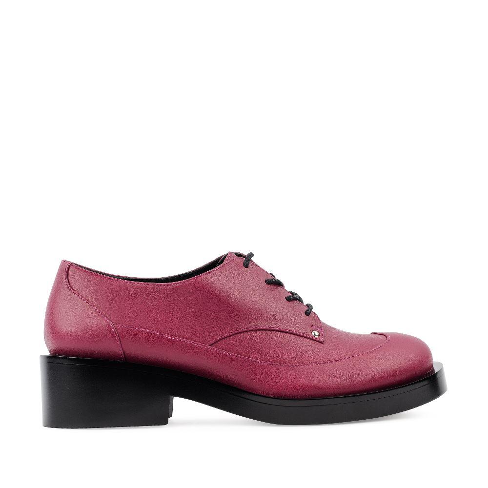 CORSOCOMO Ботинки из кожи цвета амарант 17-453-01-63-65