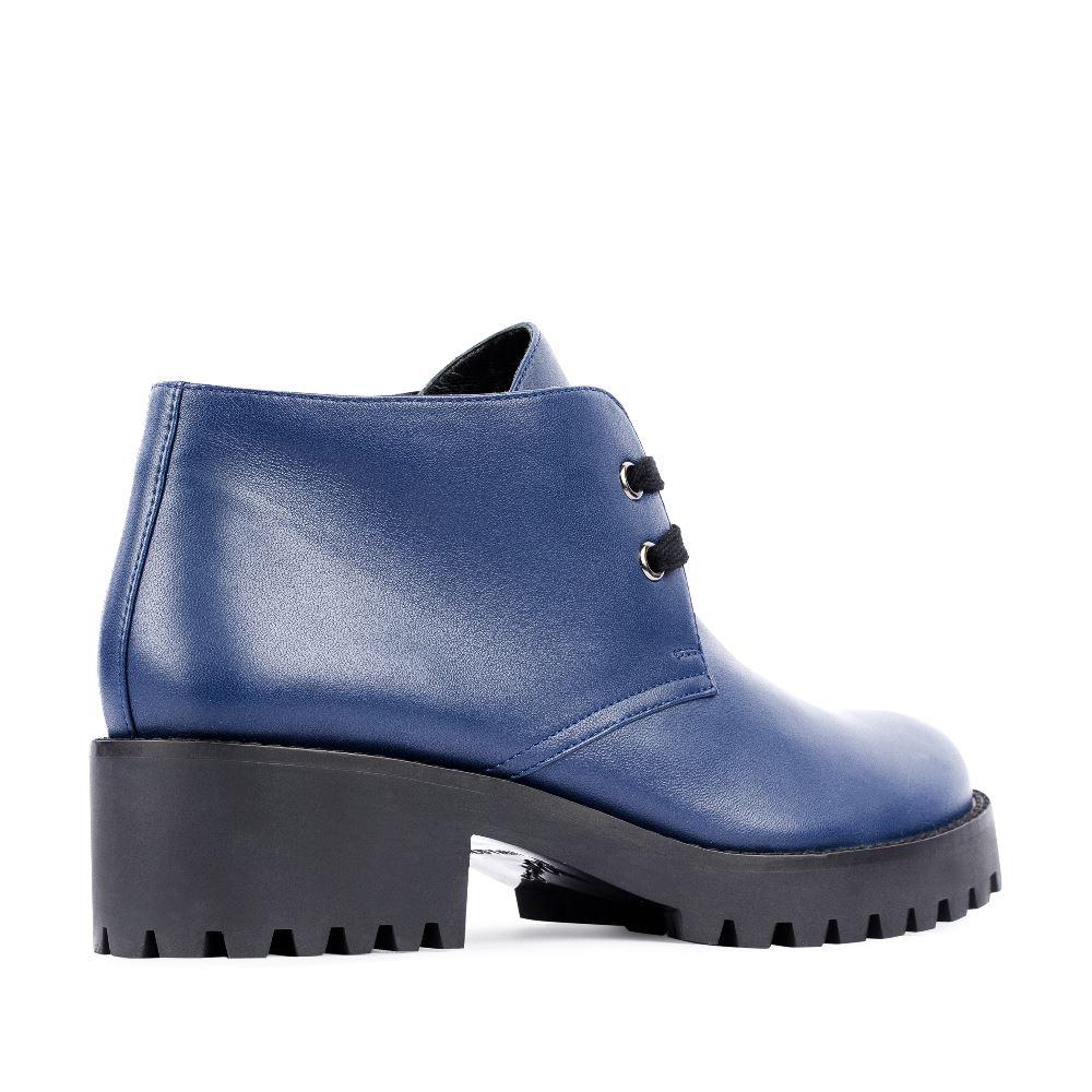 Женские ботинки CorsoComo (Корсо Комо) 17-453-02-08-231 т.п. Ботинки жен кожа син.