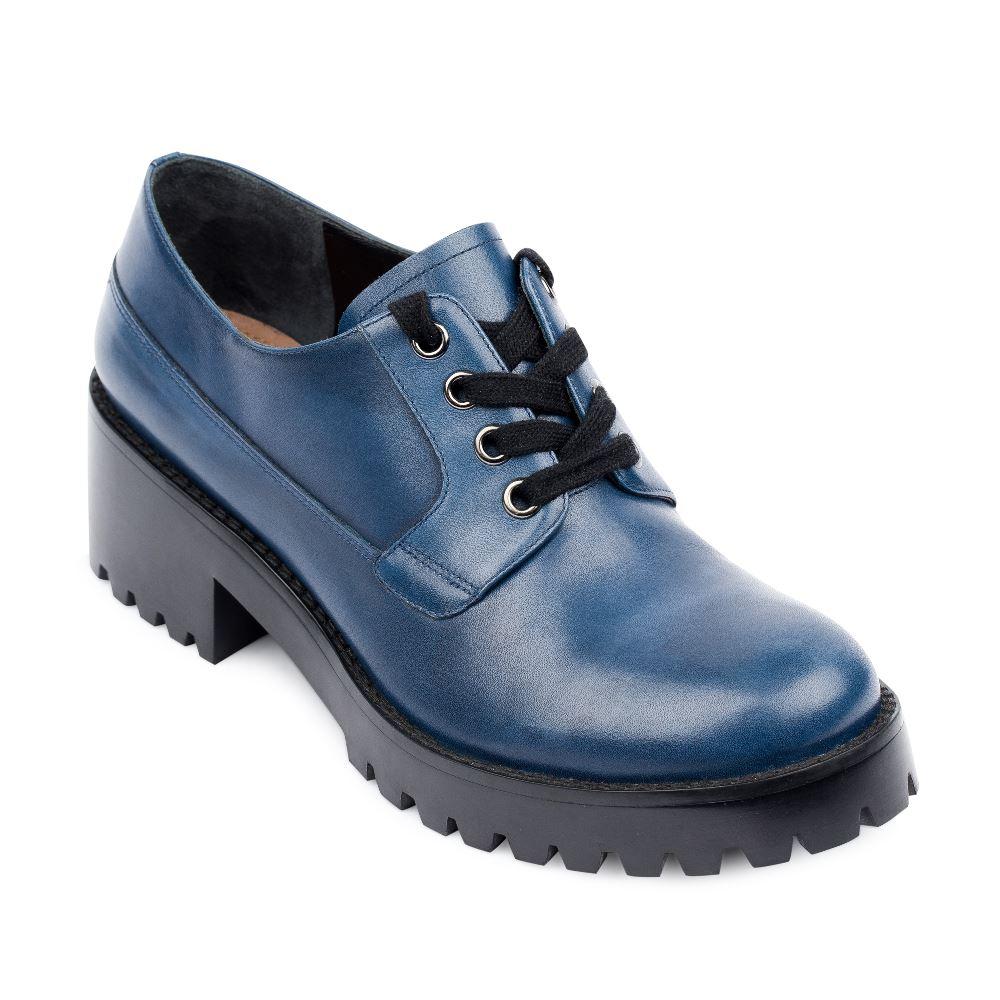 Женские ботинки CorsoComo (Корсо Комо) 17-453-02-10-155 к.п. Полуботинки жен кожа син.: изображение 2