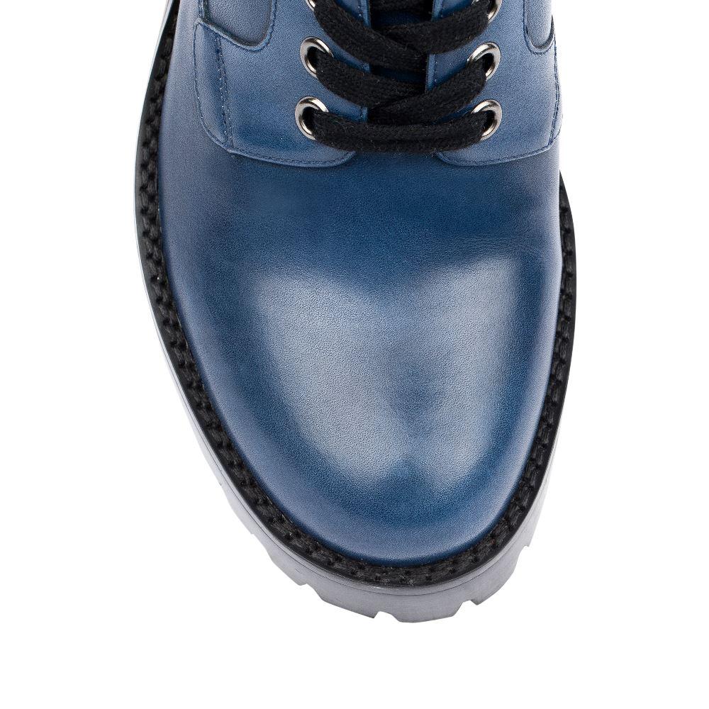 Женские ботинки CorsoComo (Корсо Комо) 17-453-02-10-155 к.п. Полуботинки жен кожа син.: изображение 3