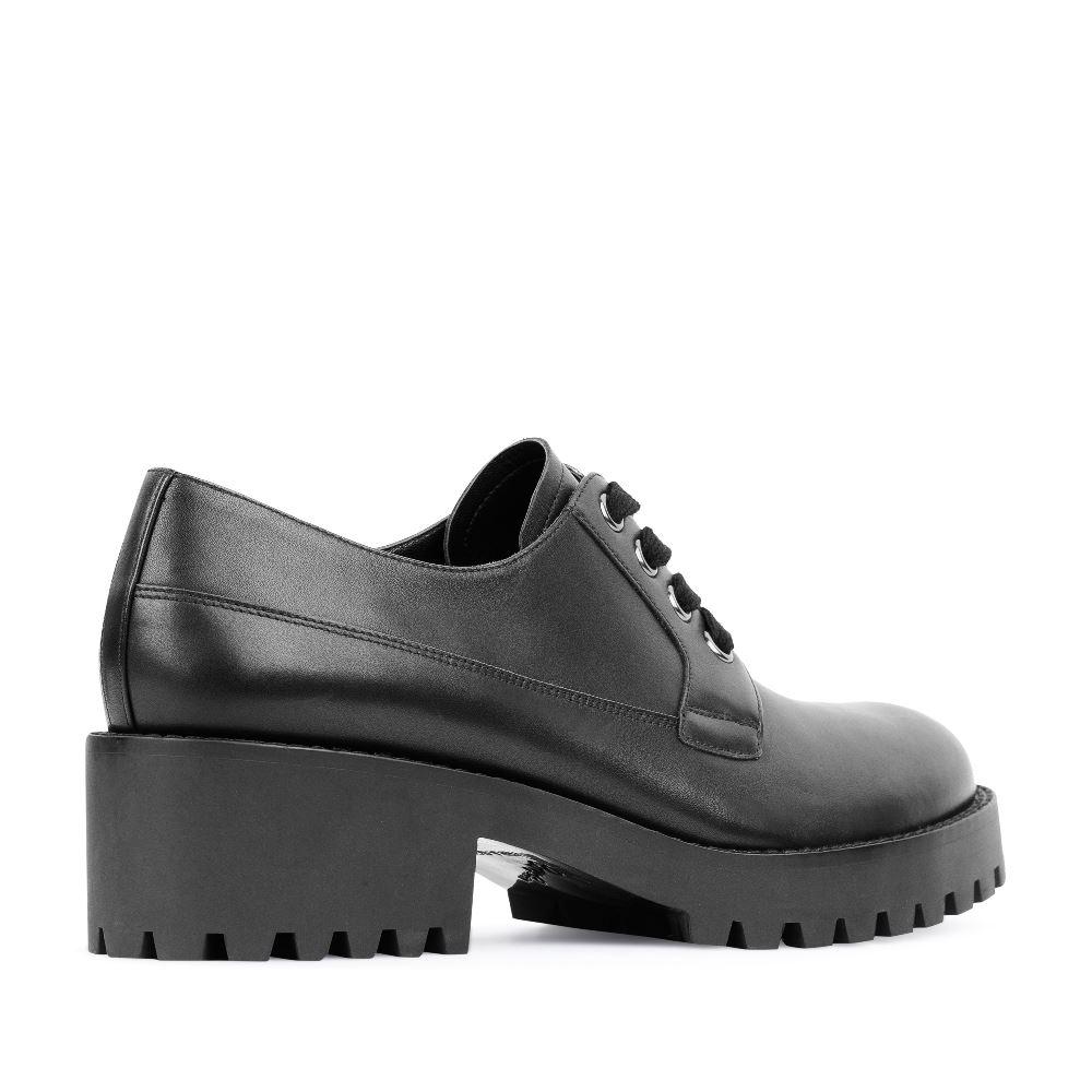 Женские ботинки CorsoComo (Корсо Комо) 17-453-02-10-305 к.п. Туфли жен кожа черн.