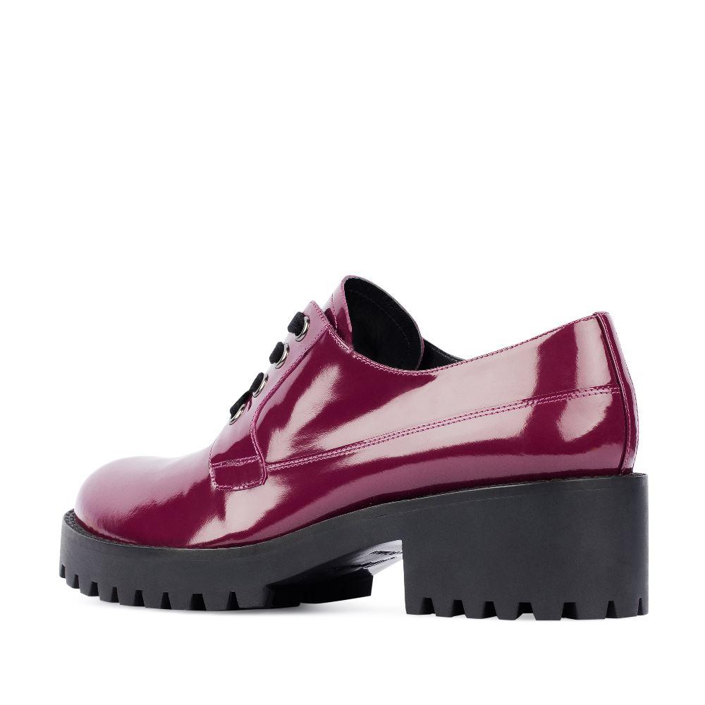 Женские ботинки CorsoComo (Корсо Комо) 17-453-02-10-325 к.п. Туфли жен лак роз.