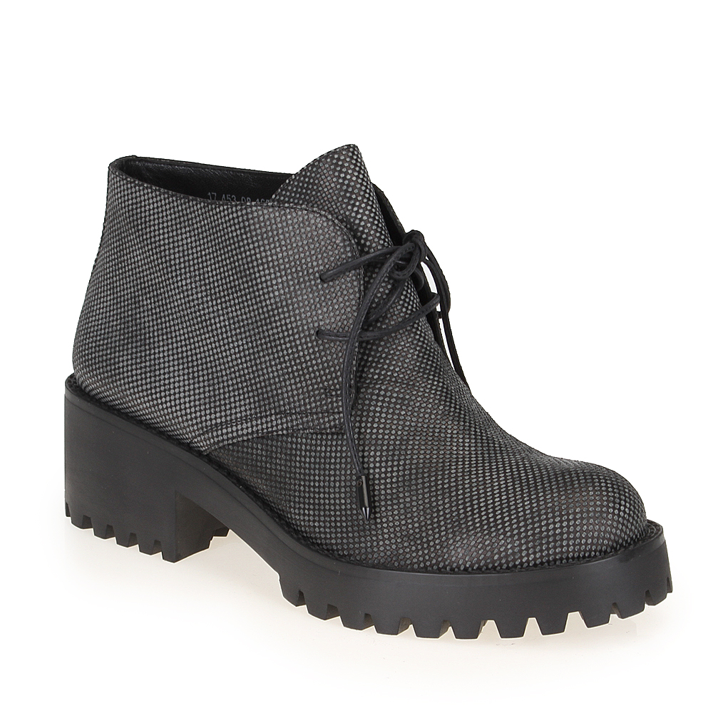 Женские ботинки CorsoComo (Корсо Комо) 17-453-08-165 к.п. Ботинки жен кожа син.