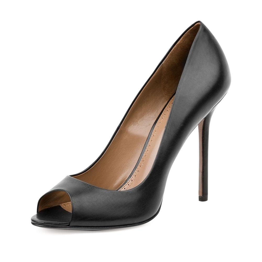 Туфли на каблуке CorsoComo (Корсо Комо) 17-622-01-02-35 к.п. Туфли жен кожа черн.