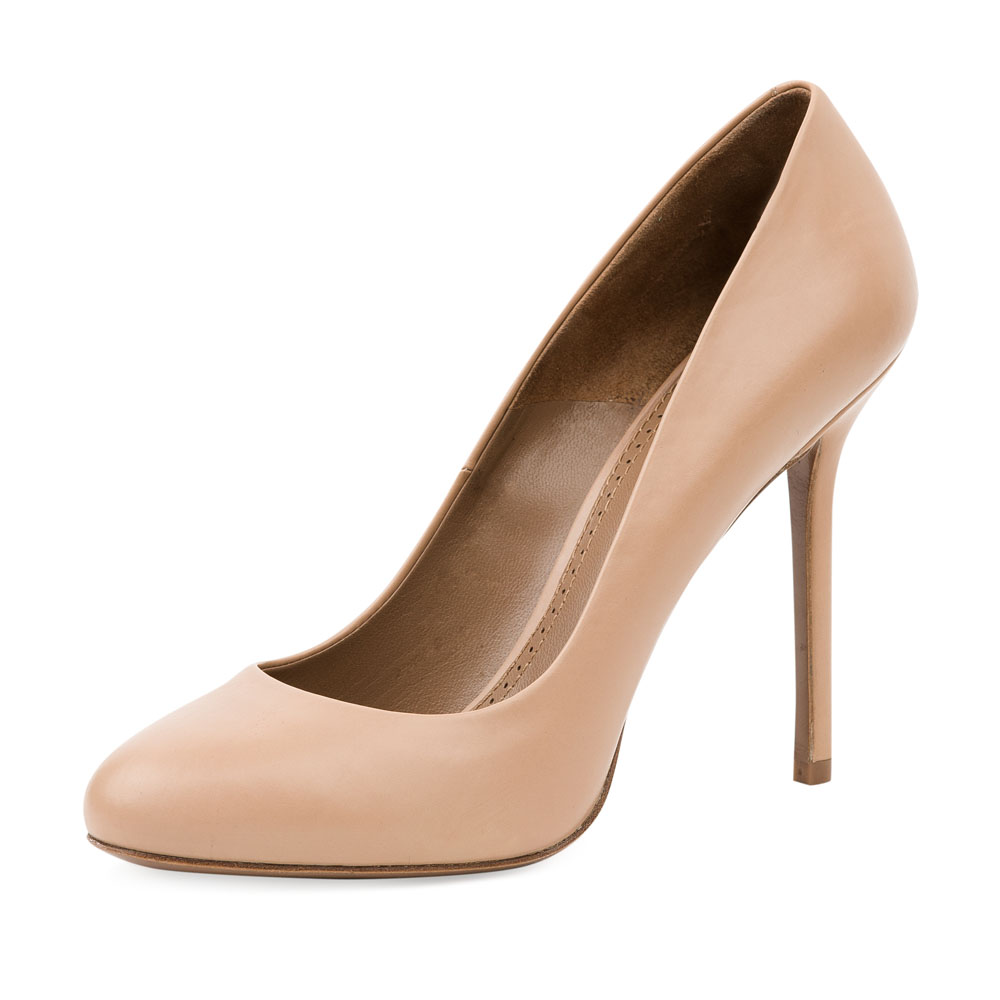 Туфли на каблуке CorsoComo (Корсо Комо) 17-625-01-01-35 к.п. Туфли жен кожа беж.