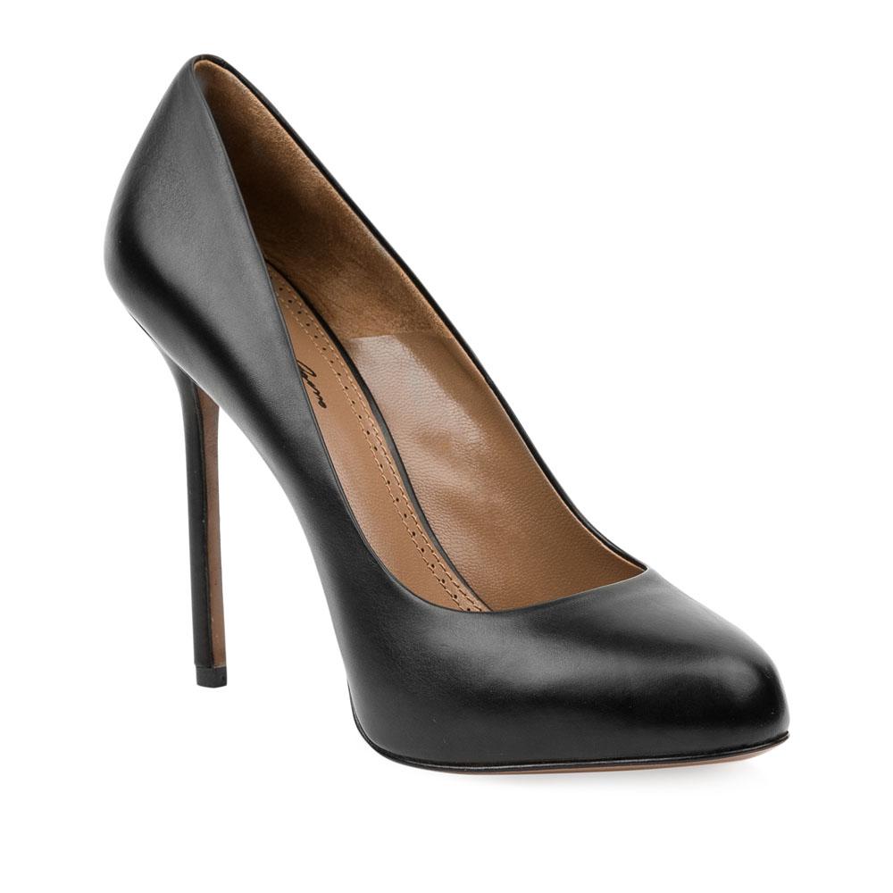 Туфли на каблуке CorsoComo (Корсо Комо) 17-625-02-01A-75 к.п. Туфли жен кожа черн.
