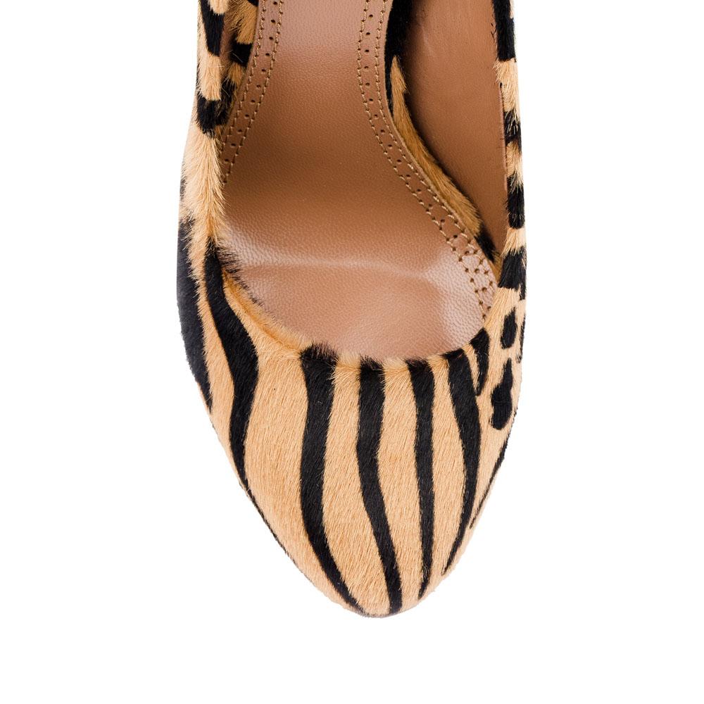 Туфли на каблуке CorsoComo (Корсо Комо) 17-625-05-01A-115 к.п. Туфли жен мех беж.