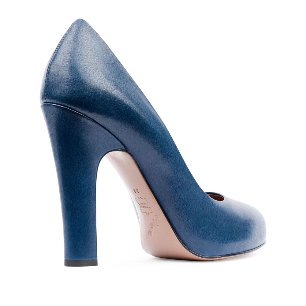 Туфли на каблуке CorsoComo (Корсо Комо) 17-625-05-01A-95 к.п. Туфли жен кожа син.