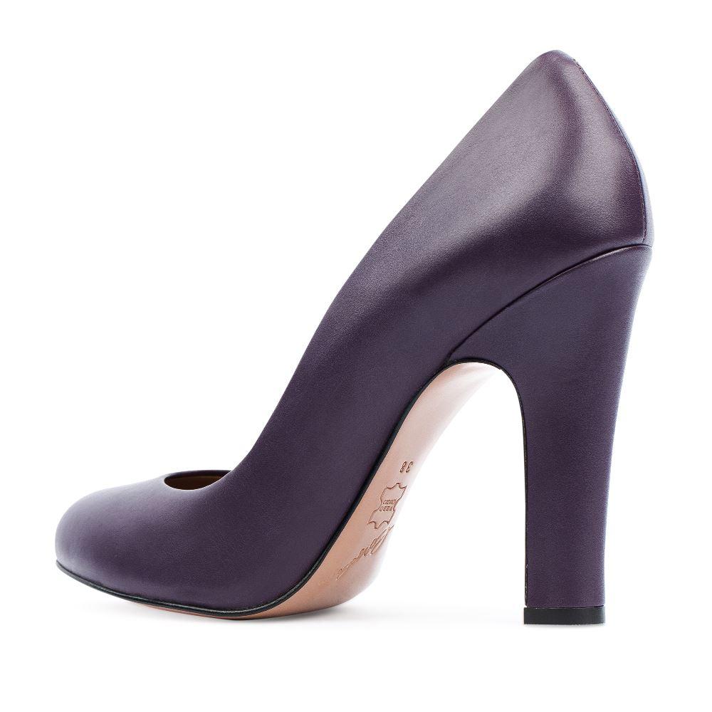 Туфли на каблуке CorsoComo (Корсо Комо) 17-625-06-15-35 к.п. Туфли жен кожа фиолет.