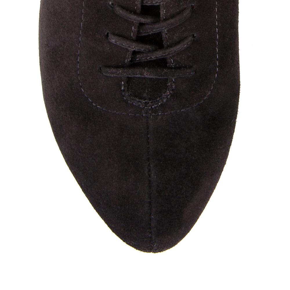 Женские ботинки CorsoComo (Корсо Комо) Полуботинки спортивного кроя из замши черного цвета