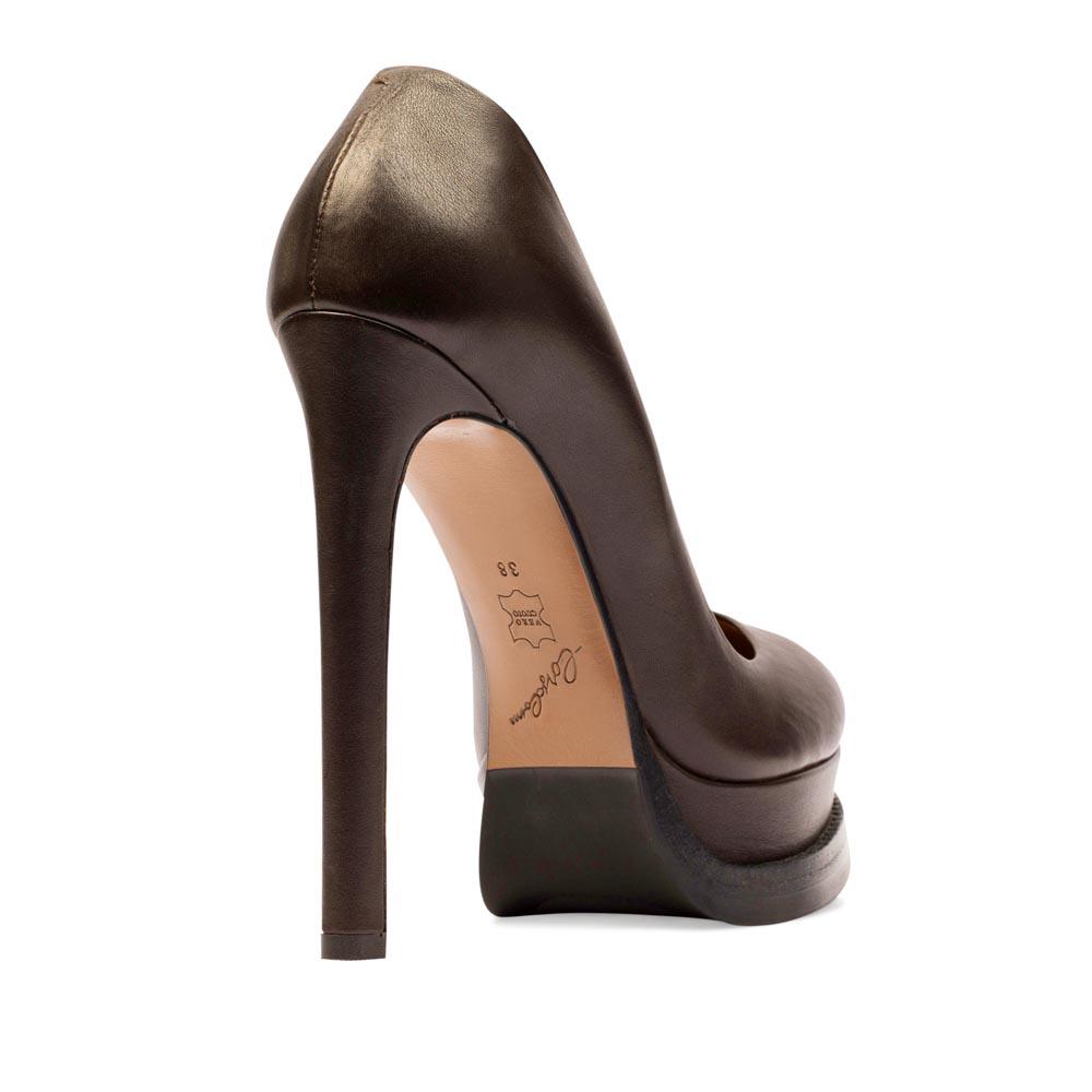 Туфли на каблуке CorsoComo (Корсо Комо) 17-665-29-165 к.п. Туфли жен кожа кор.