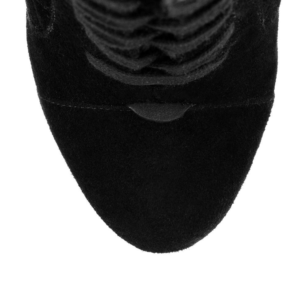 Ботильоны на каблуке CorsoComo (Корсо Комо) 17-667-13-66-62 мех Ботинки жен велюр черн.: изображение 4
