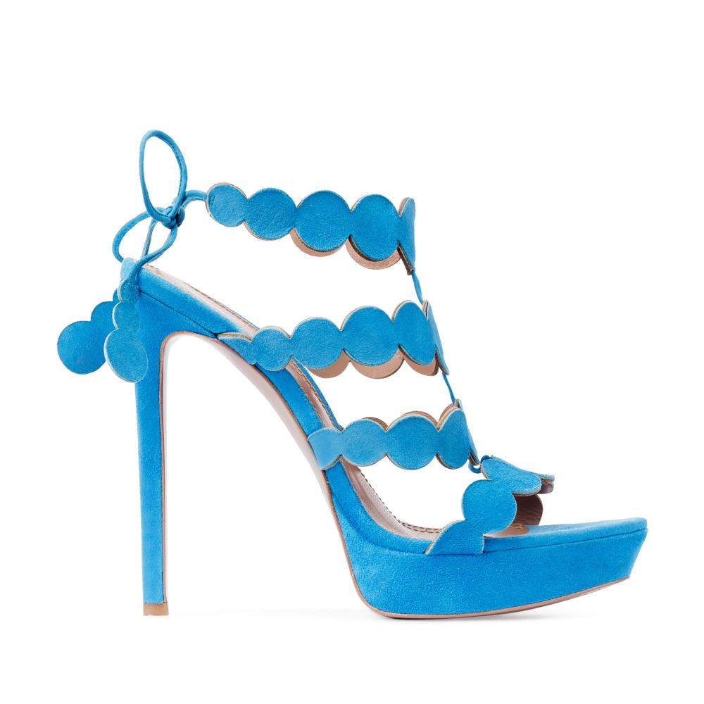Босоножки из замши голубого цветаТуфли женские<br><br>Материал верха: Замша<br>Материал подкладки: Кожа<br>Материал подошвы:Кожа<br>Цвет: Голубой<br>Высота каблука: 13 см<br>Дизайн: Италия<br>Страна производства: Китай<br><br>Высота каблука: 13 см<br>Материал верха: Замша<br>Материал подошвы: Кожа<br>Материал подкладки: Кожа<br>Цвет: Голубой<br>Вес кг: 1.00000000<br>Размер: 37.5