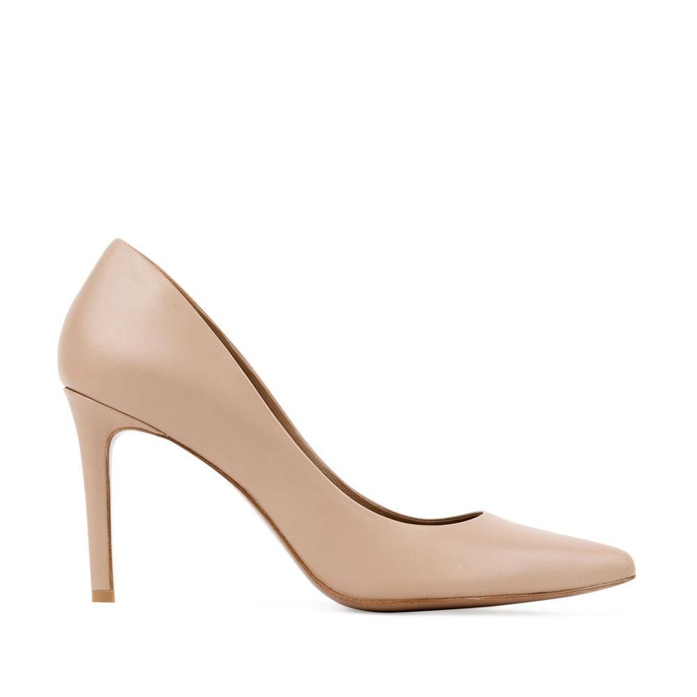 CORSOCOMO Кожаные туфли-лодочки бежевого цвета 17-670-08-325-5