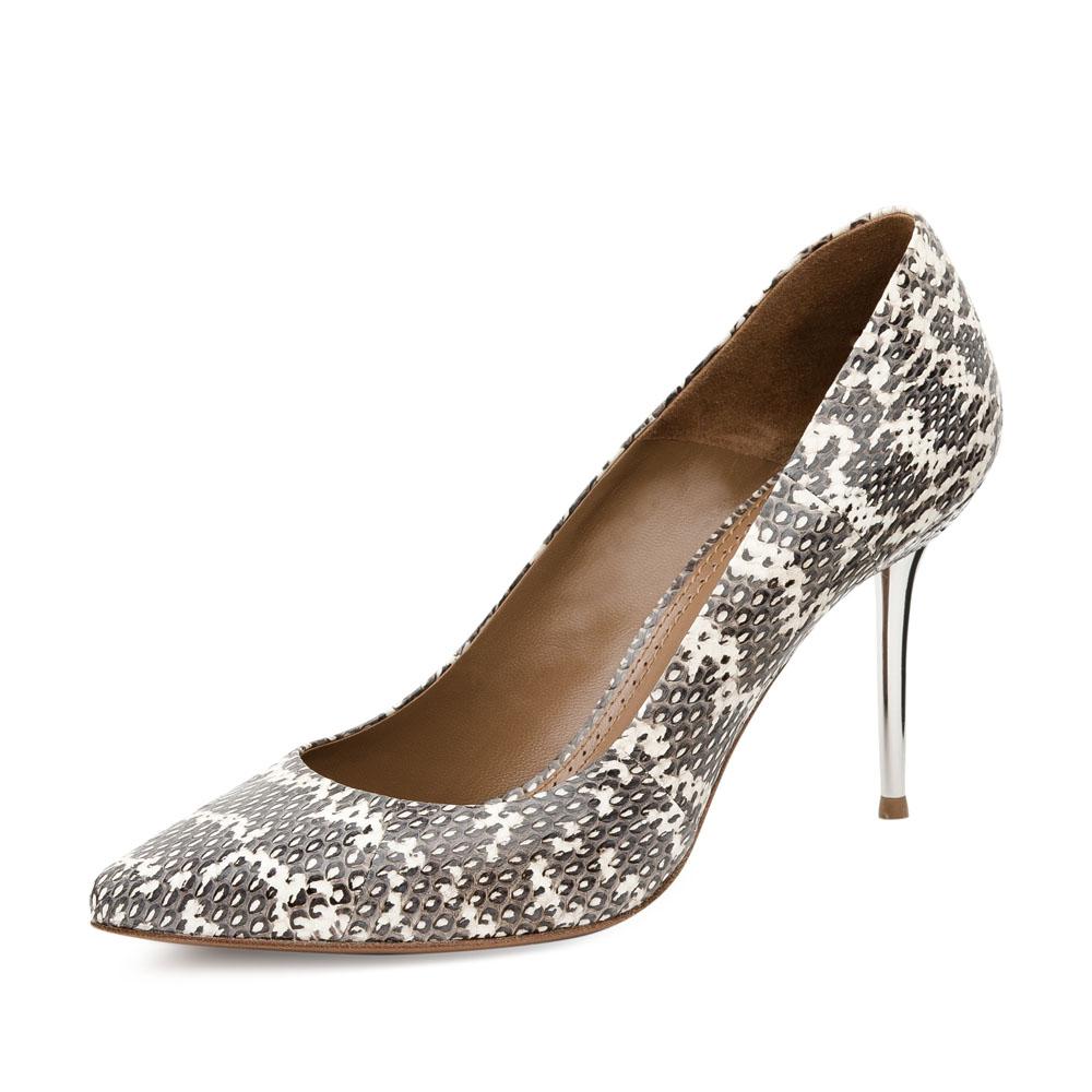 Туфли на каблуке CorsoComo (Корсо Комо) 17-670-18S-45 к.п. Туфли жен кожа черн.
