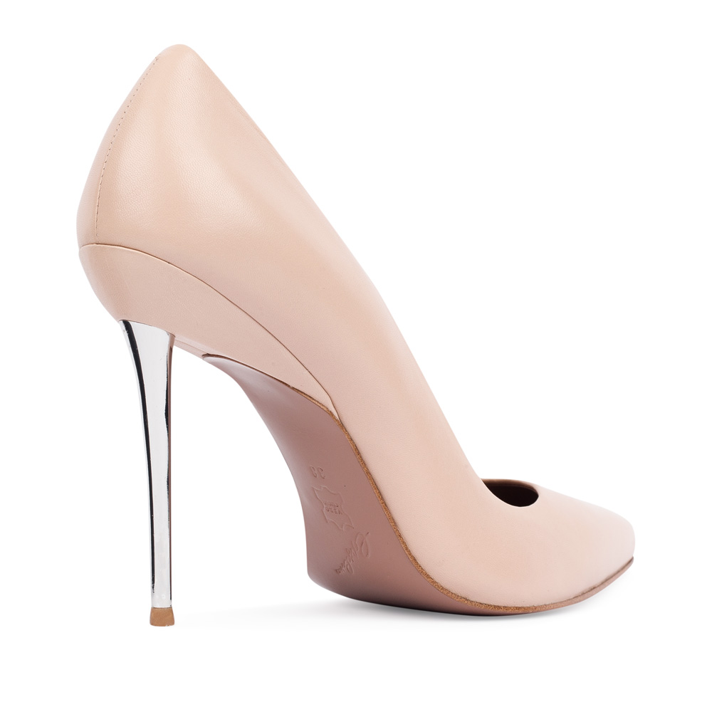 Туфли на каблуке CorsoComo (Корсо Комо) 17-675-01-37-325 к.п. Туфли жен кожа беж.