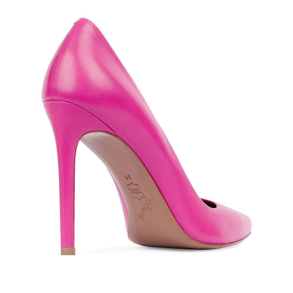 Туфли на каблуке CorsoComo (Корсо Комо) 17-675-02-37-215 к.п. Туфли жен кожа роз.