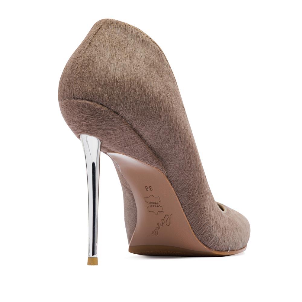 Туфли на каблуке CorsoComo (Корсо Комо) 17-675-28-35 к.п. Туфли жен мех сер.