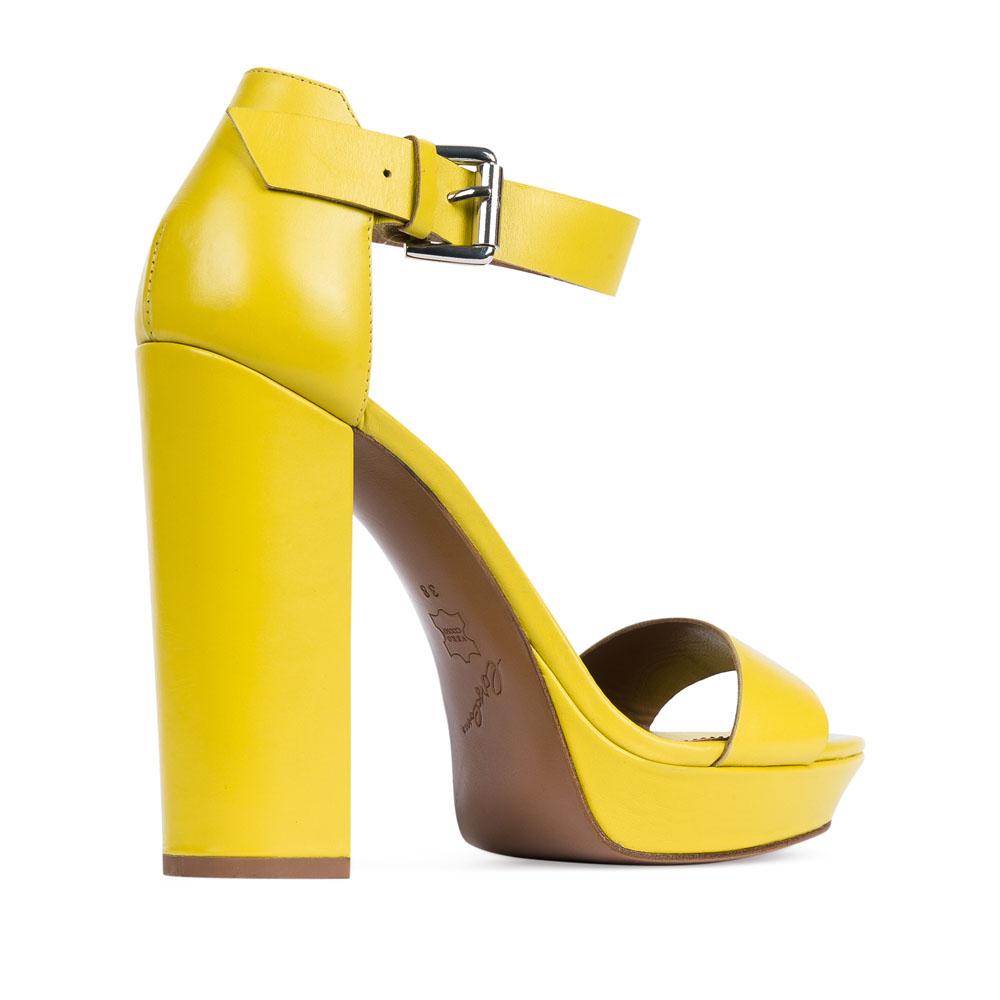 Женские босоножки CorsoComo (Корсо Комо) 17-680-09-105 к.п. Туфли жен кожа желт.