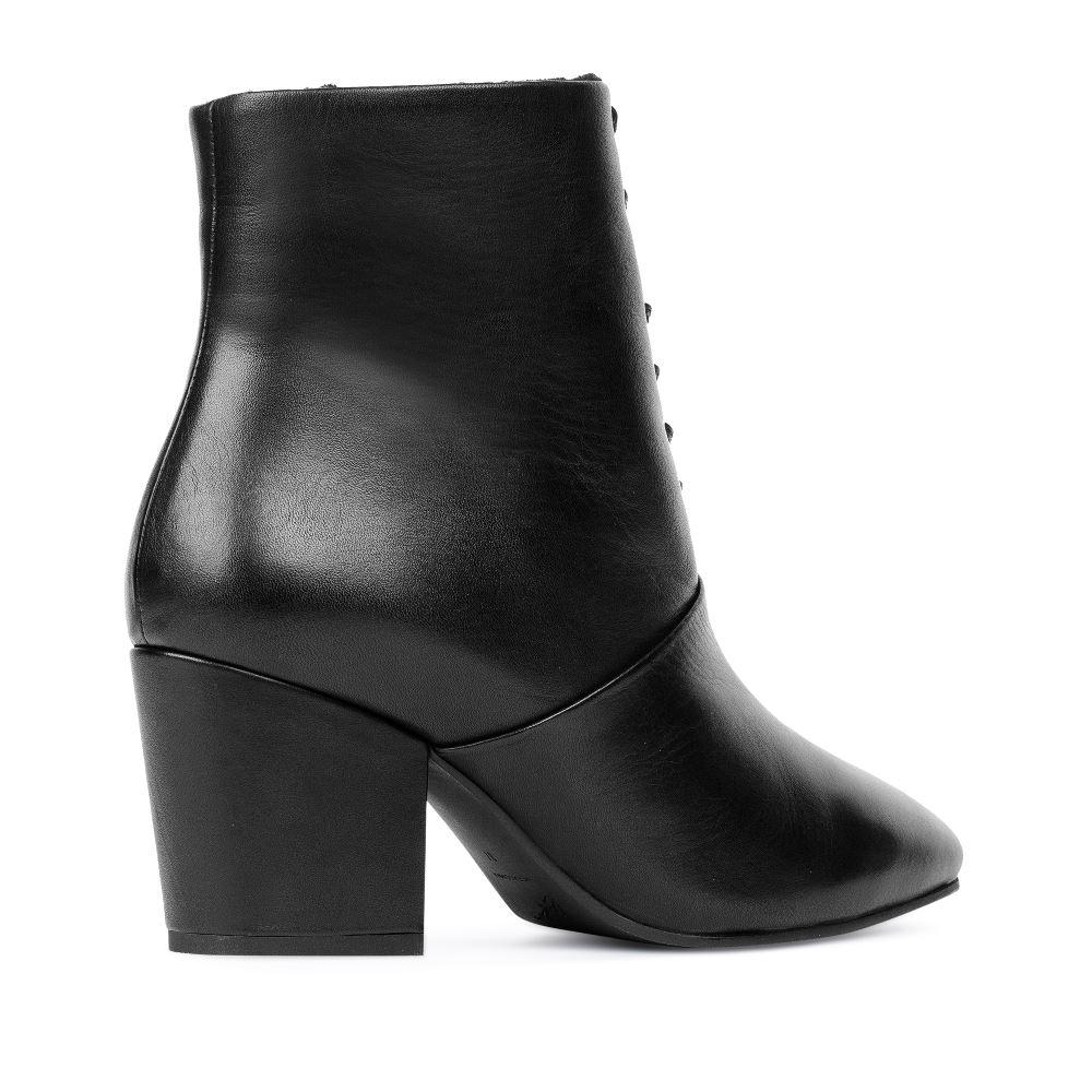 Женские ботинки CorsoComo (Корсо Комо) 17-738-01-02-42 мех Ботинки жен кожа черн.