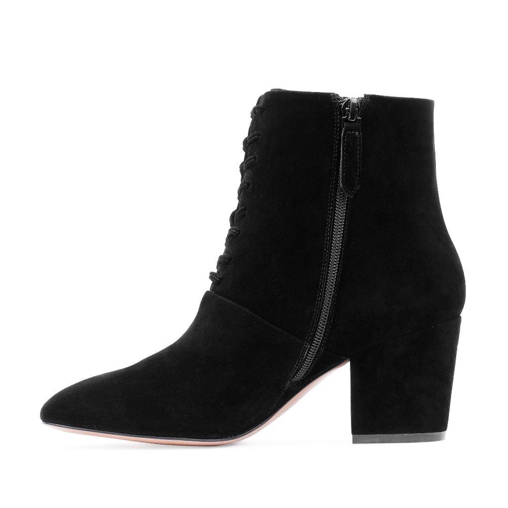 Женские ботинки CorsoComo (Корсо Комо) 17-738-01-02-55 к.п. Ботинки жен велюр черн.