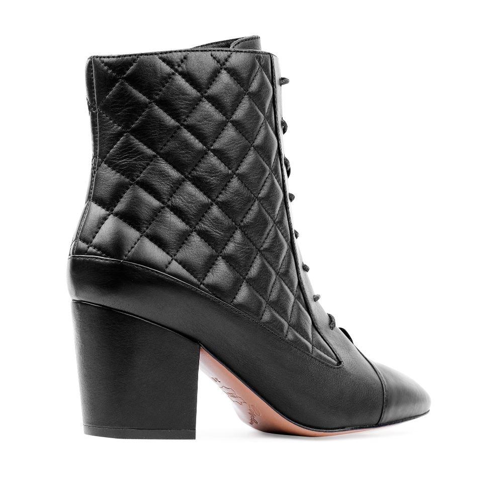 Женские ботинки CorsoComo (Корсо Комо) 17-738-01-12-11 т.п. Ботинки жен кожа черн.