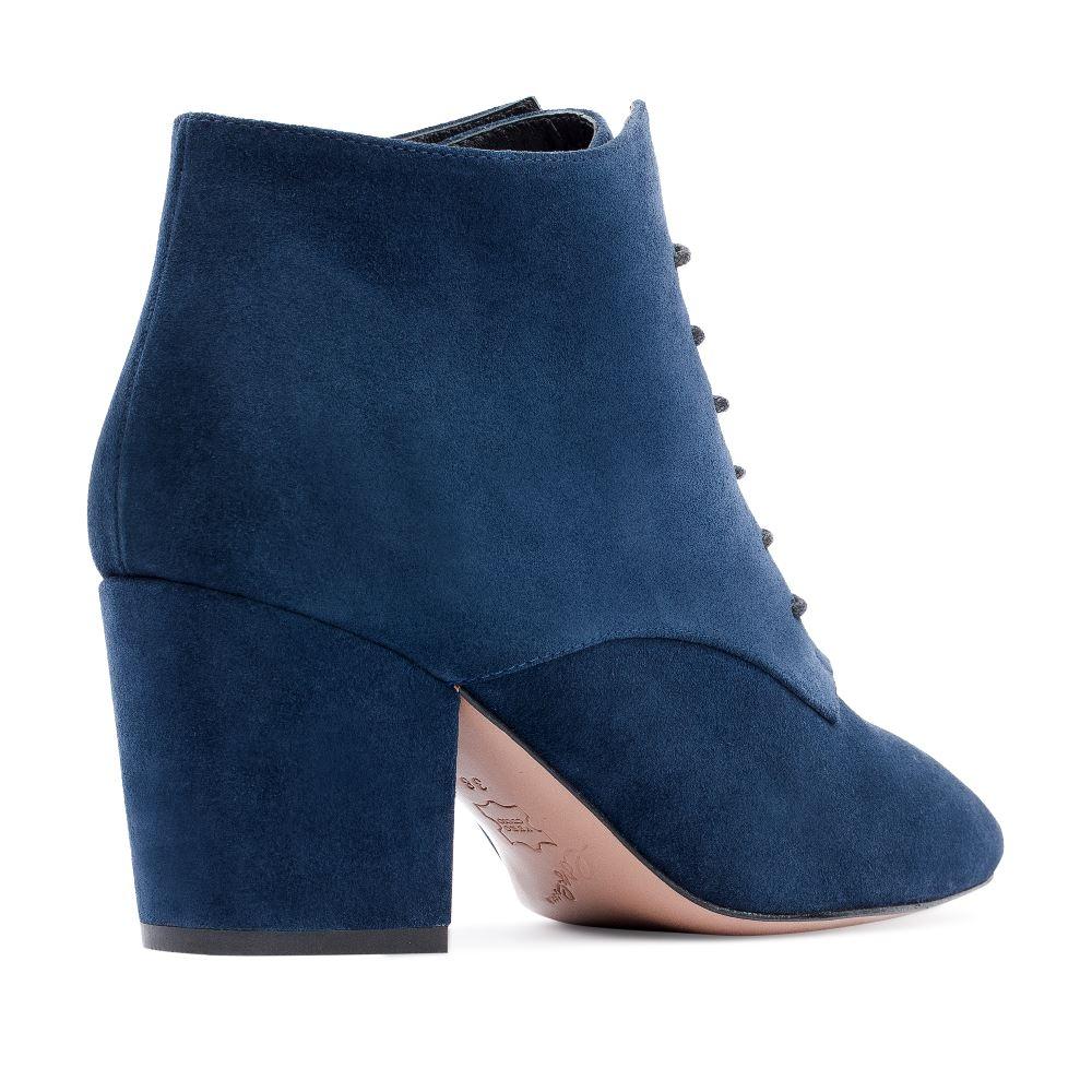 Женские ботинки CorsoComo (Корсо Комо) 17-738-01-17-35 к.п. Ботинки жен спилок син.