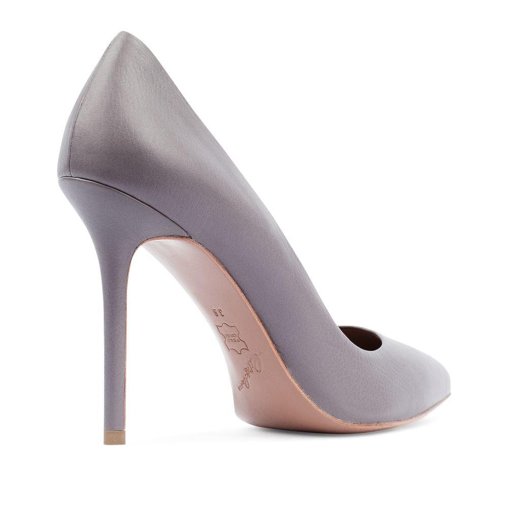 Туфли на каблуке CorsoComo (Корсо Комо) 17-925-01-01-125 к.п. Туфли жен кожа сер.