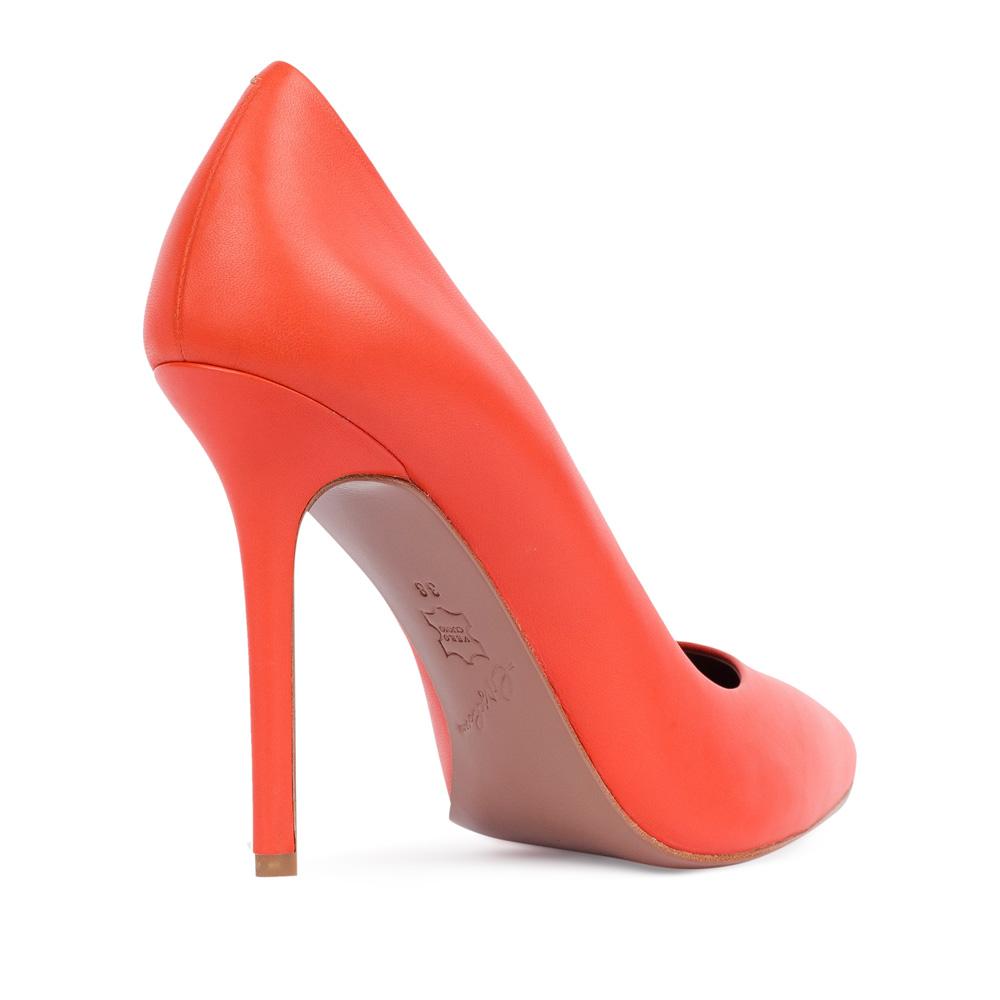 Туфли на каблуке CorsoComo (Корсо Комо) 17-925-01-01-345 к.п. Туфли жен кожа оранж.