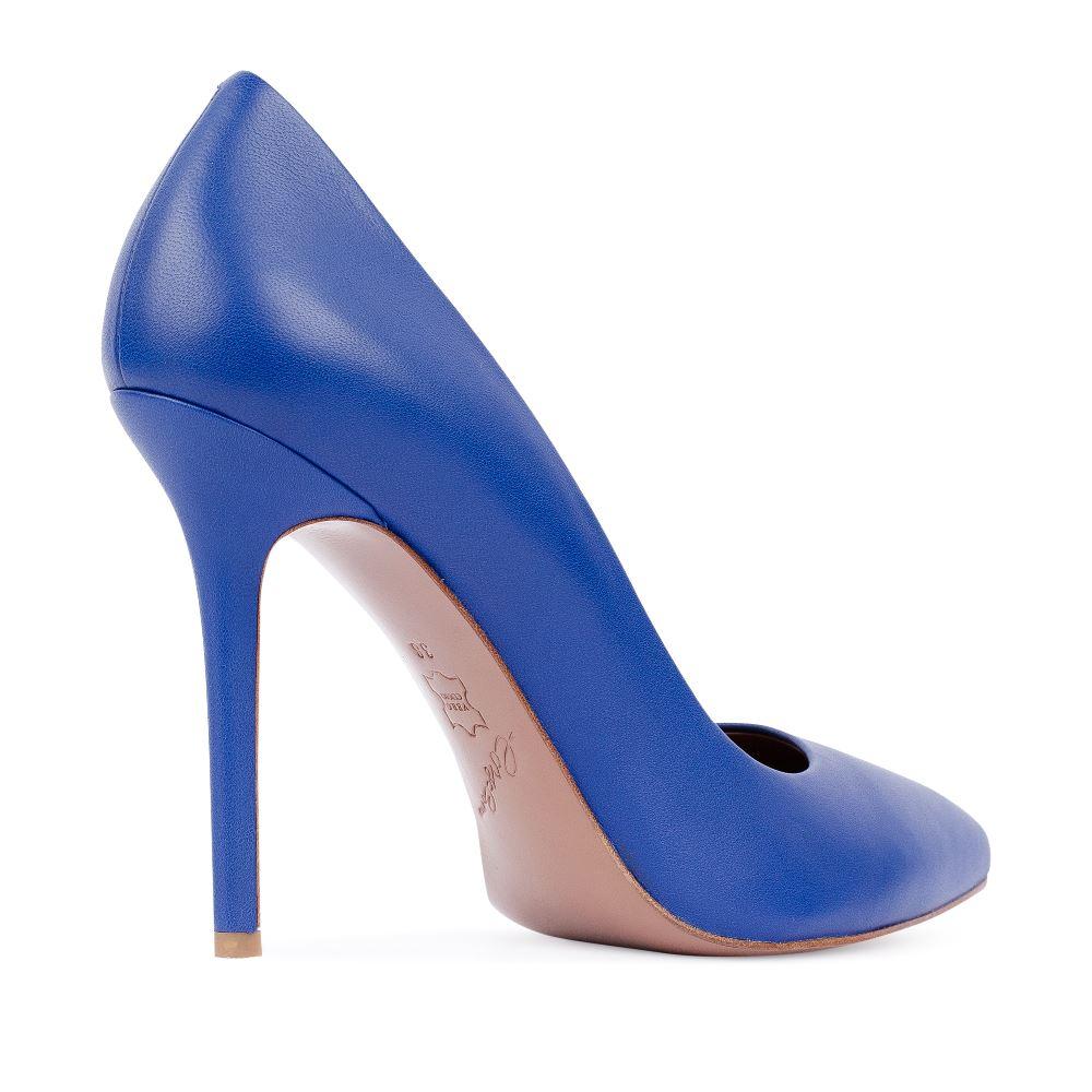 Туфли на каблуке CorsoComo (Корсо Комо) 17-925-01-01-455 к.п. Туфли лодочки жен кожа син.