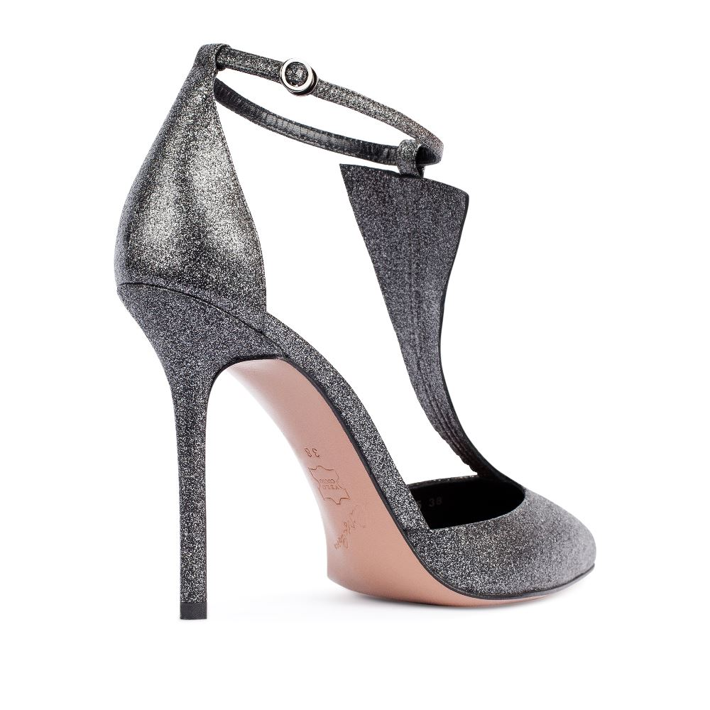 Туфли на каблуке CorsoComo (Корсо Комо) 17-925-01-09-95 к.п. Туфли жен кожа сер.