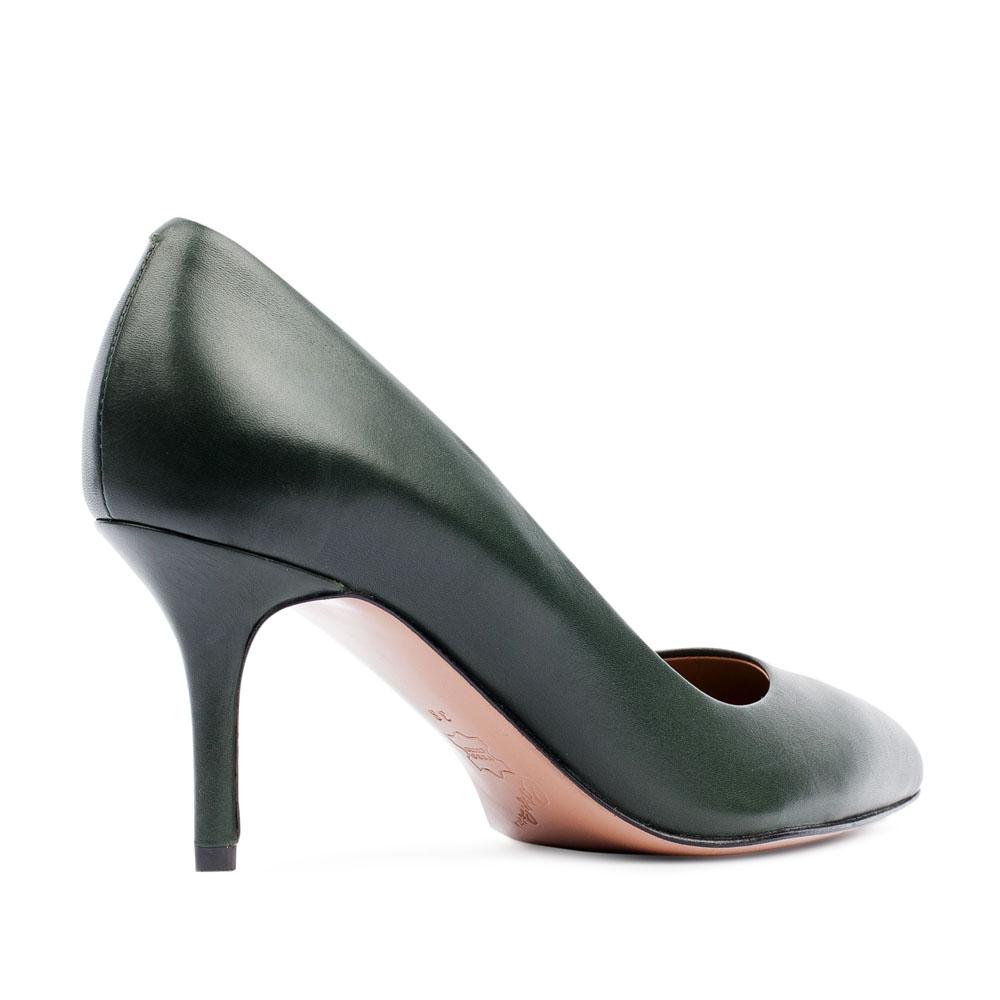 Женские туфли CorsoComo (Корсо Комо) 17-930-01-01-65 к.п. Туфли жен кожа зелен.
