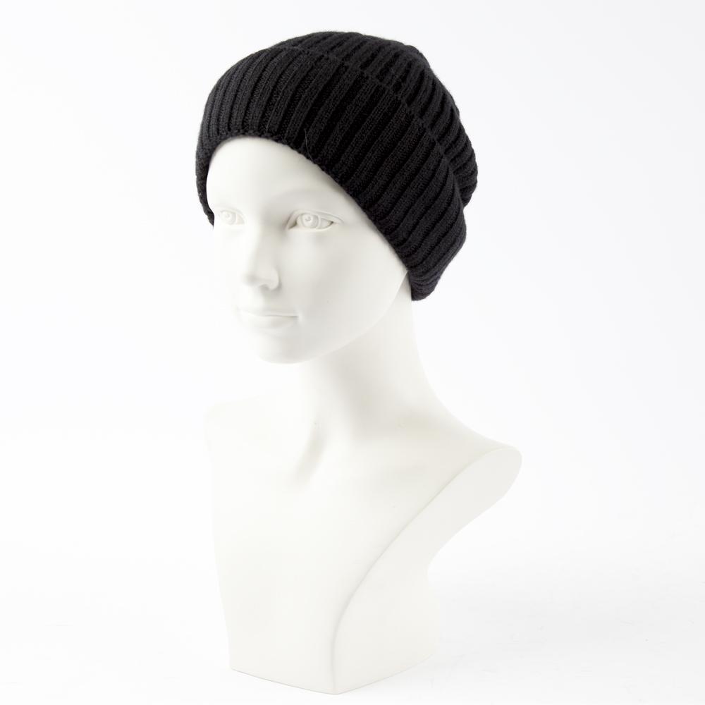 Шерстяная шапка черного цветаШапка женская<br><br>Материал верха: Шерсть<br>Цвет: Черный<br>Дизайн: Италия<br>Страна производства: Китай<br><br>Материал верха: Шерсть<br>Цвет: Черный<br>Пол: Женский<br>Размер: Без размера