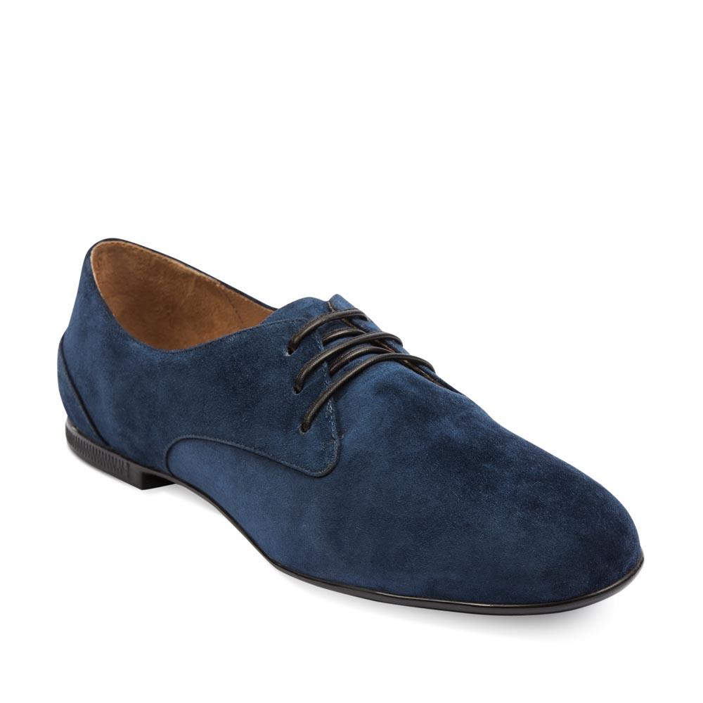 Женские ботинки CorsoComo (Корсо Комо) 19-556-7-175 к.п. Туфли жен велюр син.