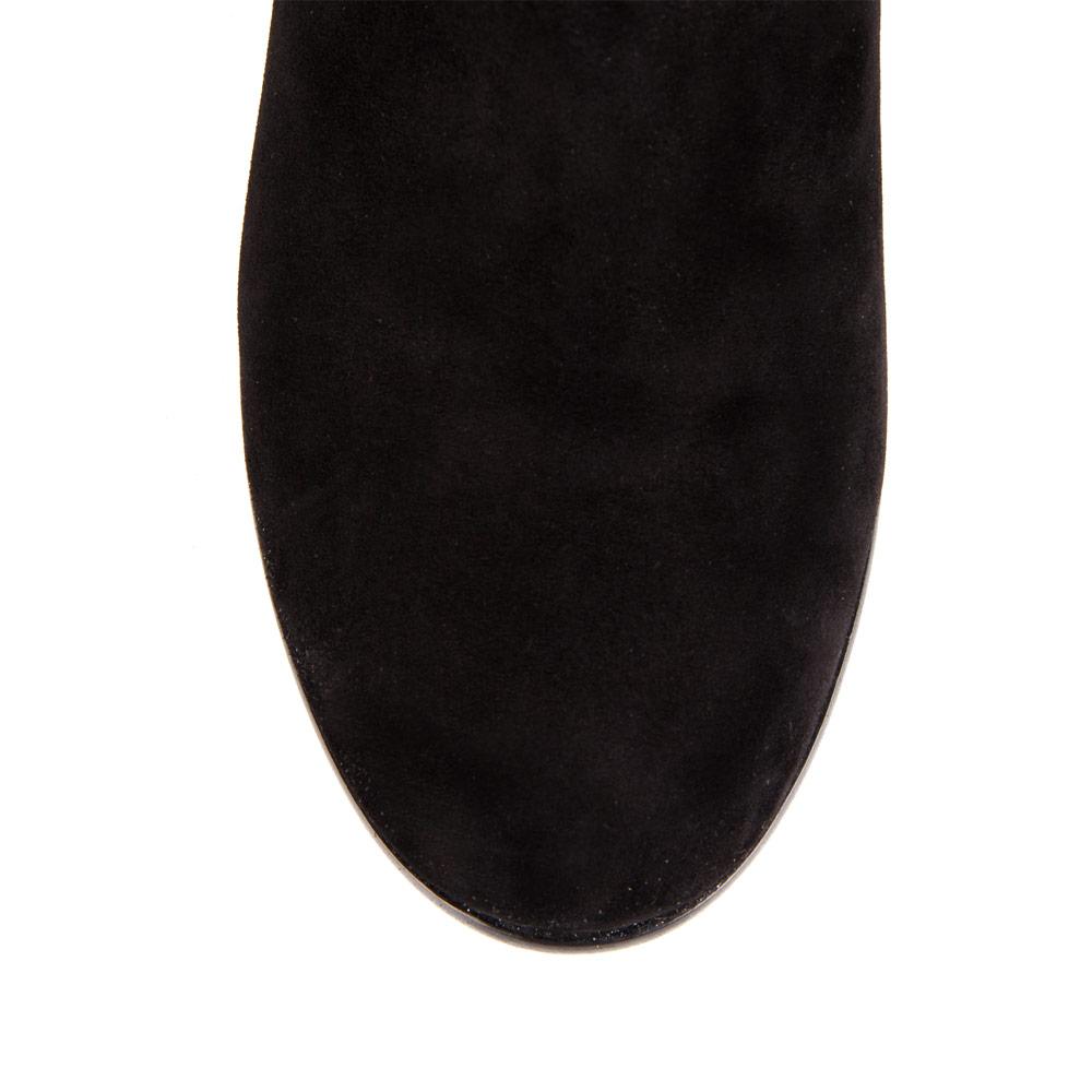 Полусапоги CorsoComo (Корсо Комо) 19-813-603-12 мех Полусапоги жен велюр черн.
