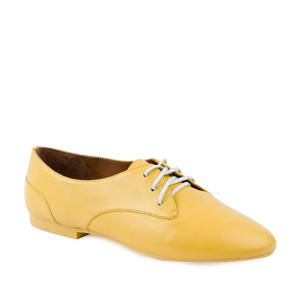 Женские ботинки CorsoComo (Корсо Комо) 28-415-07-35 к.п. Полуботинки жен кожа желт.