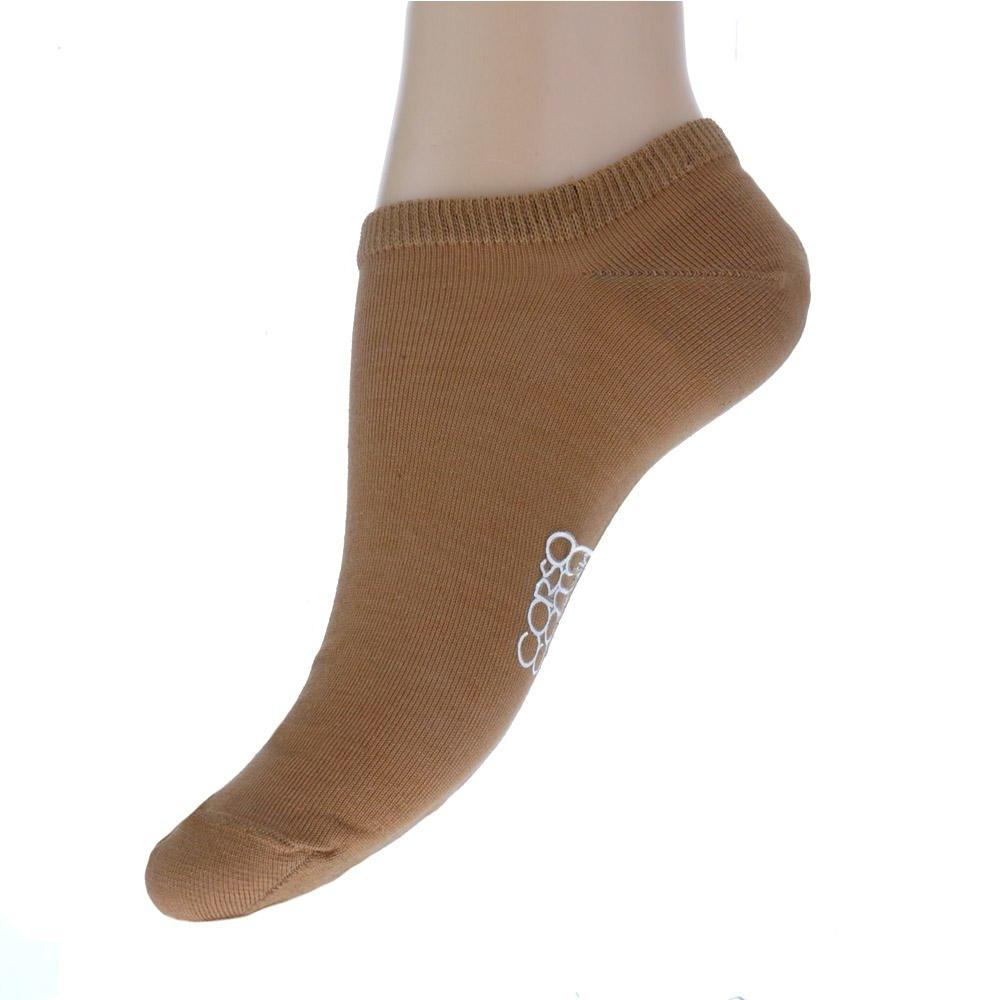 Короткие носки песочного цвета