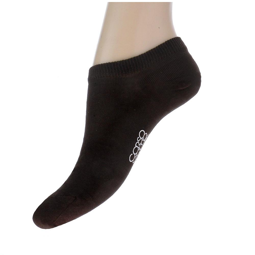 Короткие носки шоколадного цвета