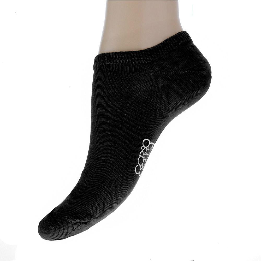 Женские носки CorsoComo (Корсо Комо) Короткие носки черного цвета