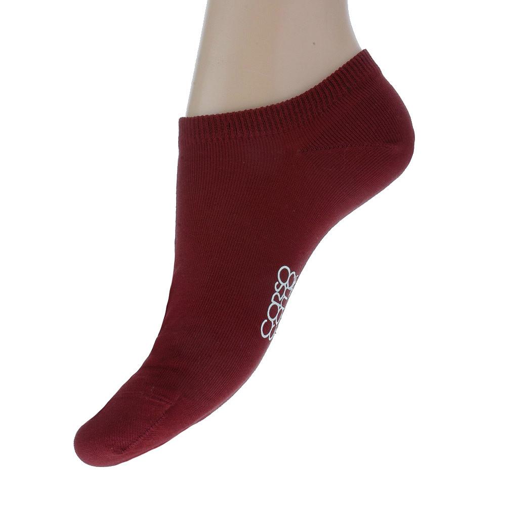 Носки CorsoComo (Корсо Комо) Короткие носки цвета бургунди