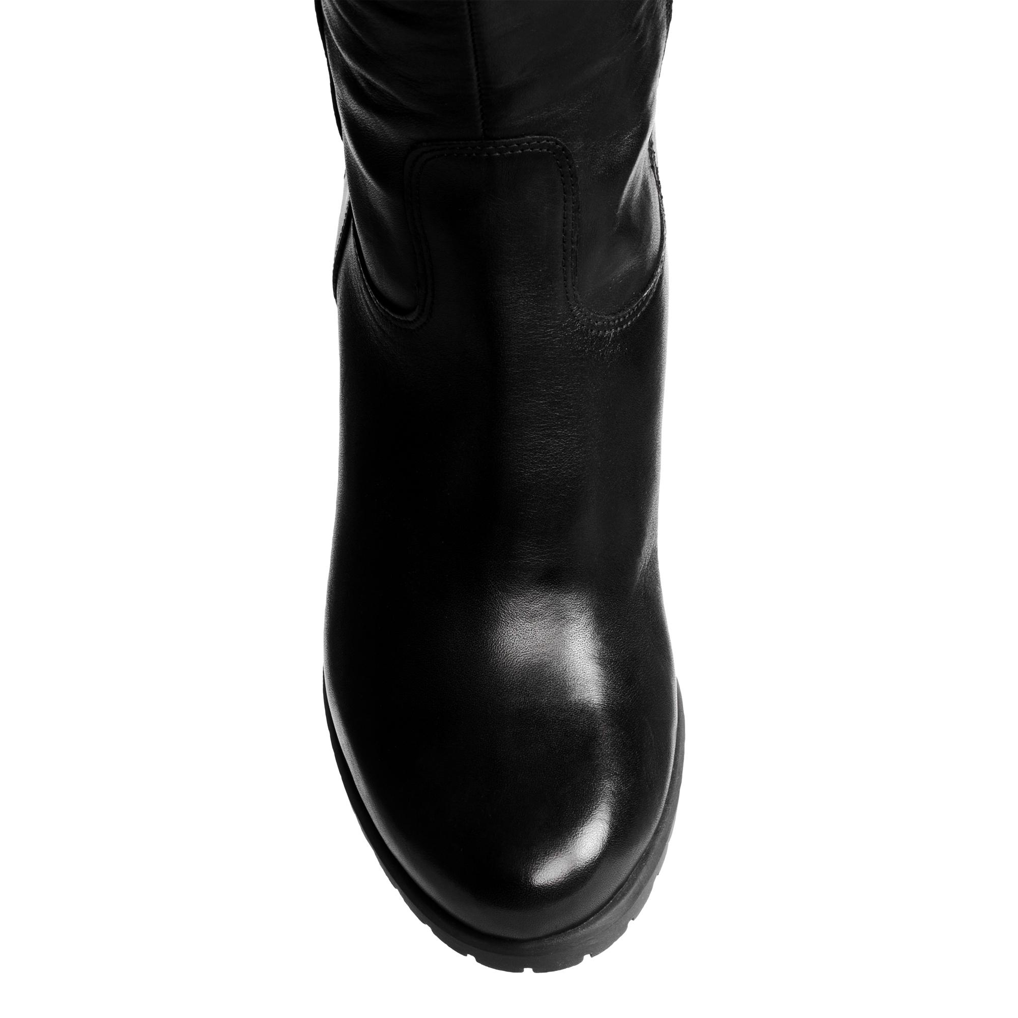 Сапоги на каблуке CorsoComo (Корсо Комо) 36-7911-2 Сапоги женские, CC_I-LUZ-7911_energy_nero, черный, шер