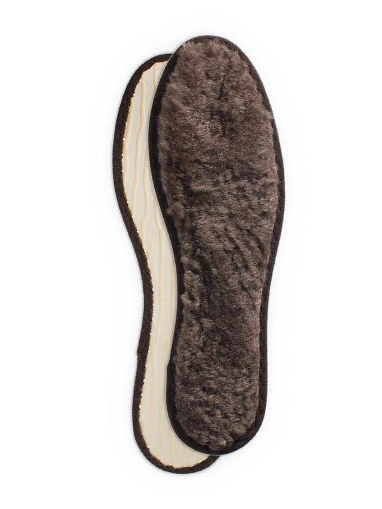 Стелька из натурального меха 43 размераСтелька из натурального меха.<br>Хорошо защищает при низких температурах.<br>Рифленая поверхность нижнего слоя препятствует<br>скольжениюстельки внутри обуви.<br>Размер: 43<br>Страна производства: Германия<br><br>Материал верха: Кожа<br>Материал подкладки: Текстиль<br>Цвет: Черный<br>Пол: Женский<br>Размер: Без размера