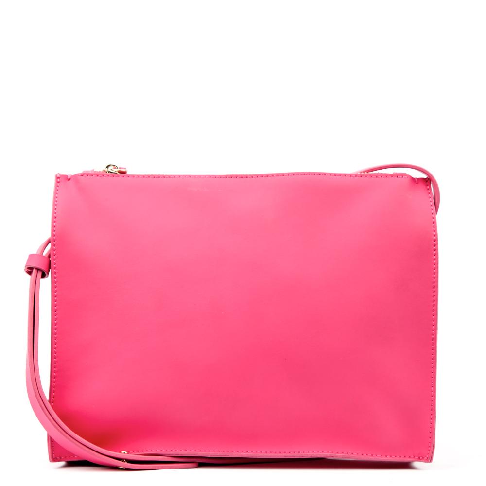 Клатч из кожи розового цветаСумка <br><br><br>Материал верха: Кожа<br><br>Материал подкладки: Текстиль<br><br>Цвет: Розовый<br><br>Дизайн: Италия<br><br>Страна производства: Китай<br><br>Материал верха: Кожа<br>Цвет: Розовый<br>Вес кг: 1.00000000<br>Размер: Без размера