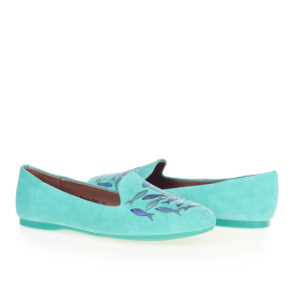 Туфли на плоской подошве CorsoComo (Корсо Комо) 50-406-5765