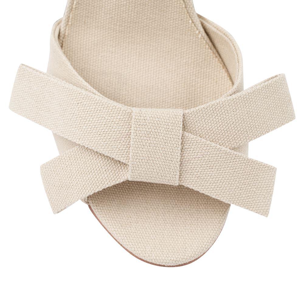 Женские босоножки CorsoComo (Корсо Комо) 52-185-C475-7 без п. Туфли жен текстиль беж.: изображение 3