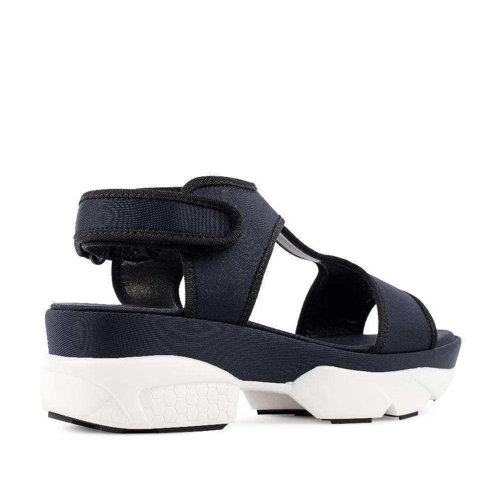 Женские сандалии CorsoComo (Корсо Комо) 52-192-C476-1 без п. Сандалеты жен текстиль черн.