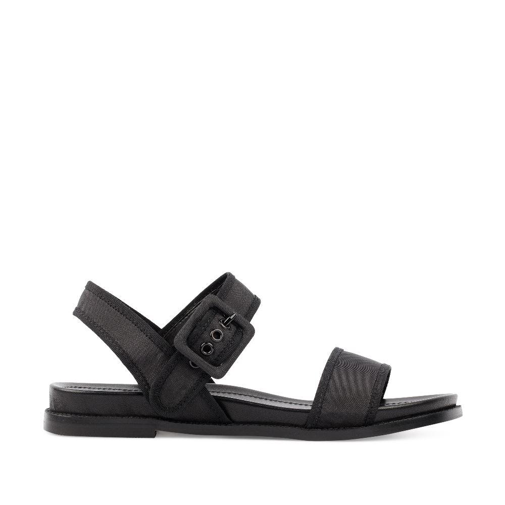 CORSOCOMO Сандалии из текстиля черного цвета 52-197-X1072-5
