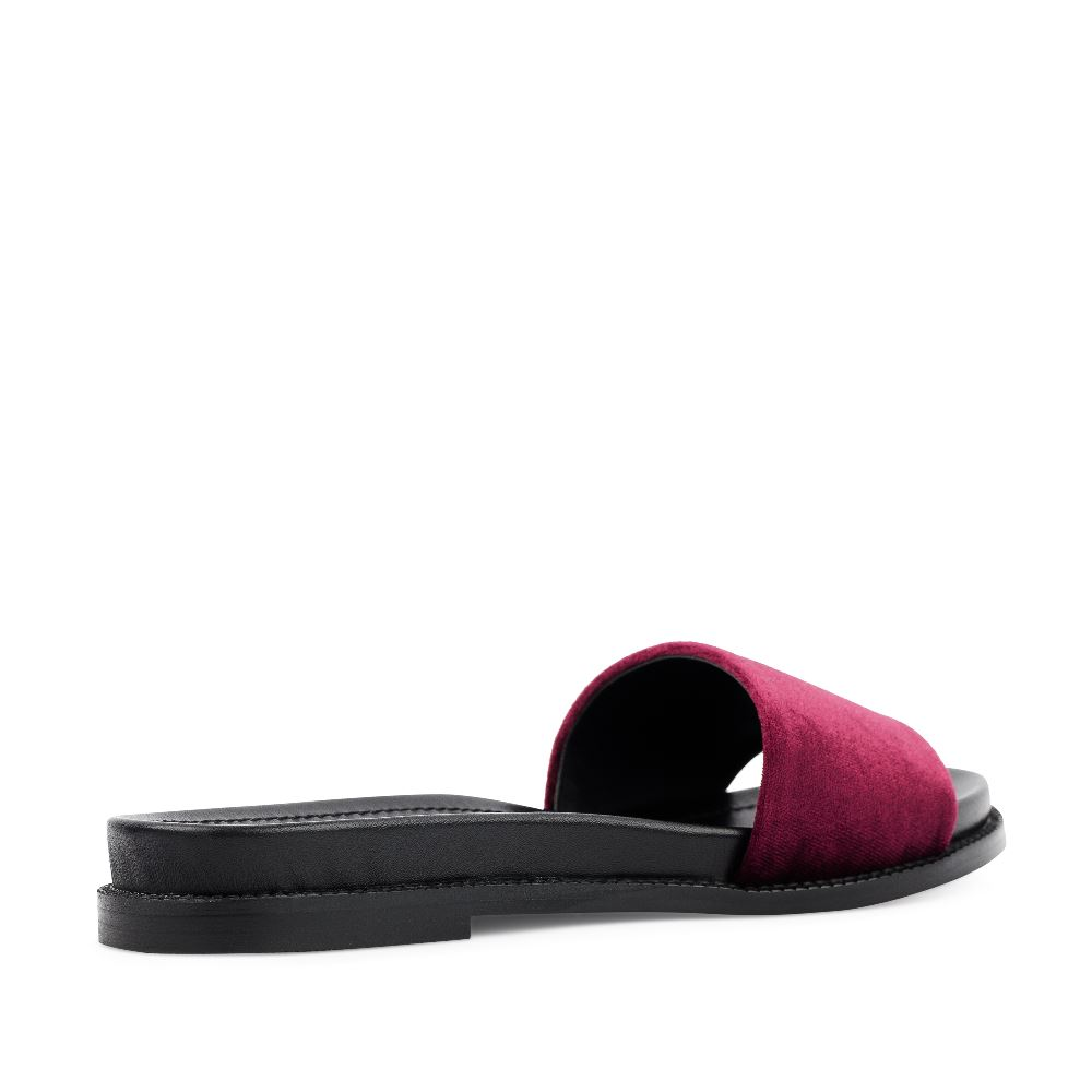 Женские сандалии CorsoComo (Корсо Комо) 52-197-X1278-2 без п. Пантолеты жен текстиль черн.
