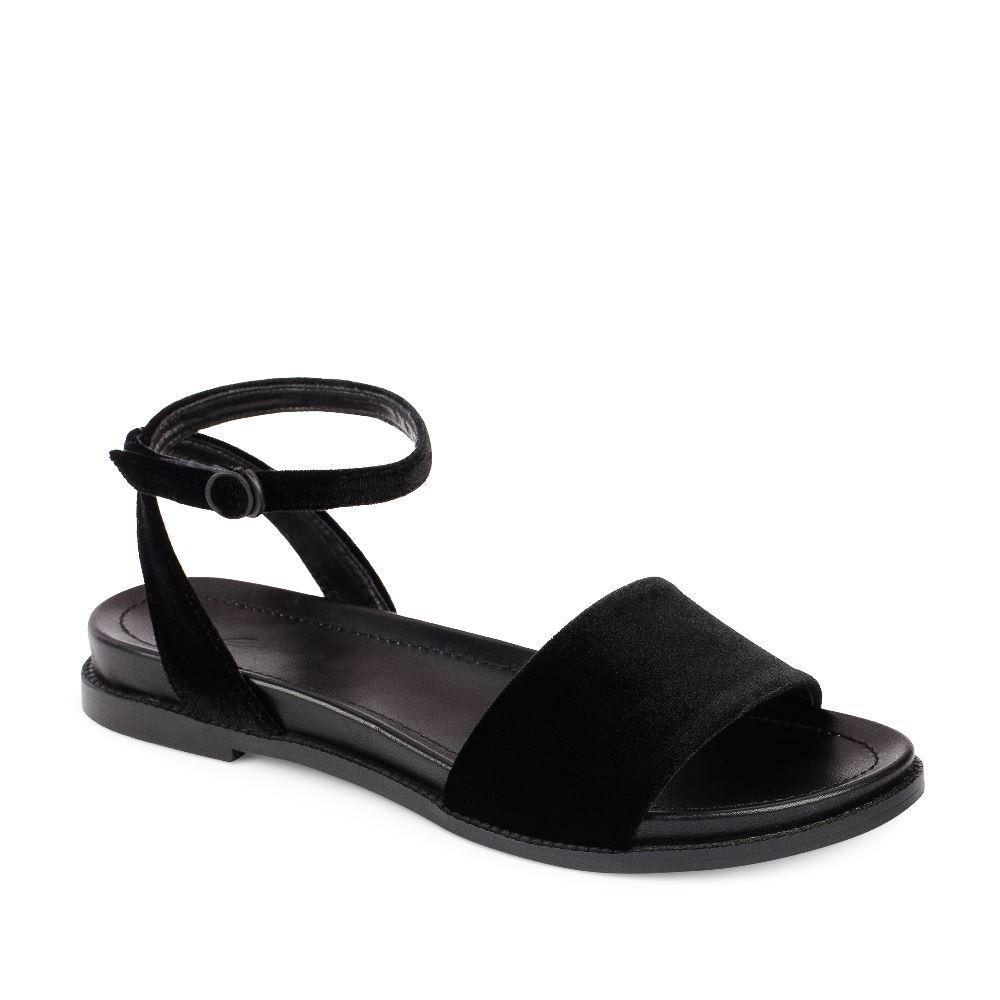 Женские сандалии CorsoComo (Корсо Комо) 52-197-X1278-2G1 к.п. Пантолеты жен текстиль черн.